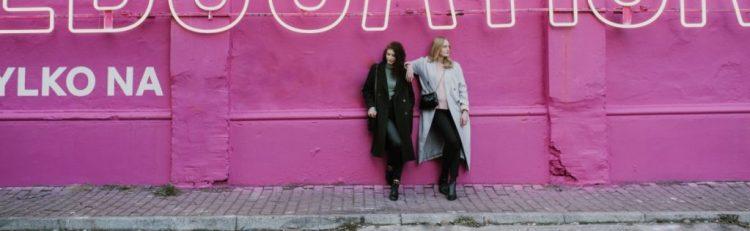 Długie płaszcze damskie
